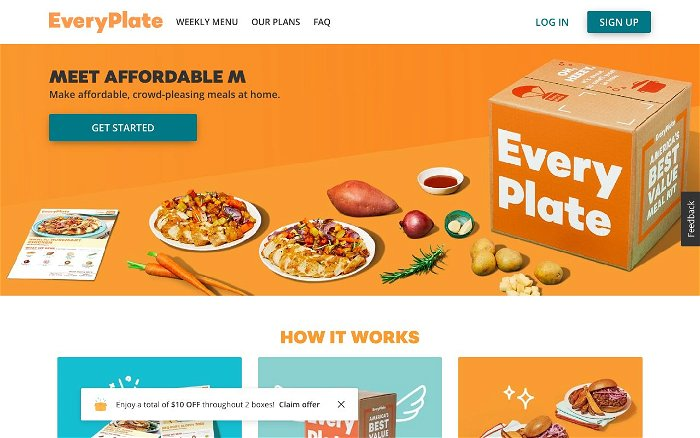 EveryPlate - Ranks and Reviews