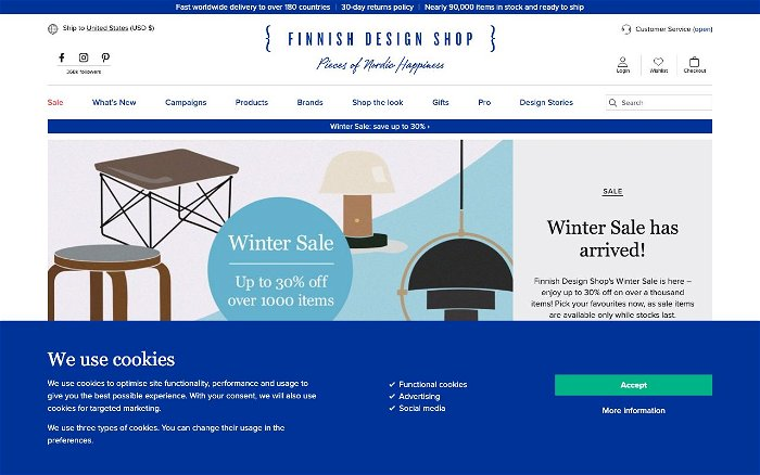 Finnish Design Shop - Ranks and Reviews