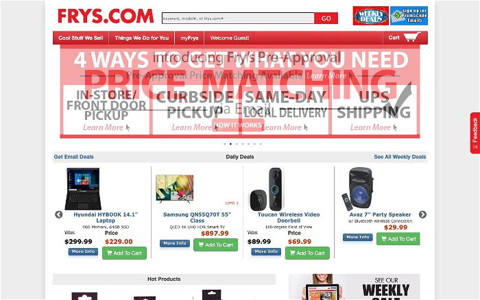Fry's Electronics - Ranks and Reviews