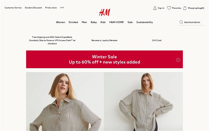 H&M - Ranks and Reviews