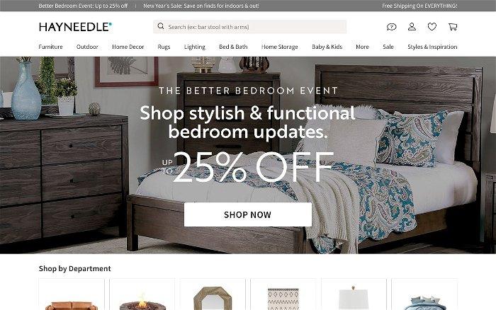 Hayneedle - Ranks and Reviews