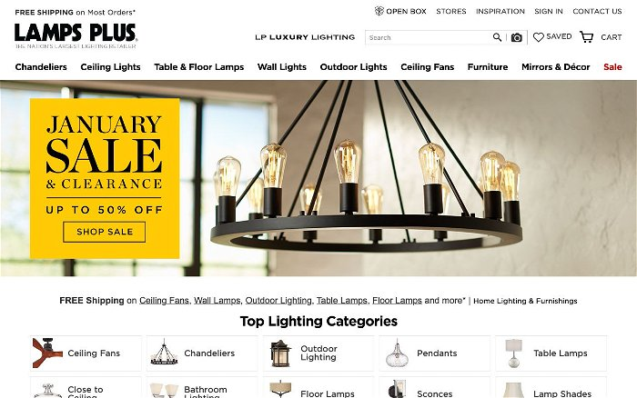 Lamps Plus - Ranks and Reviews