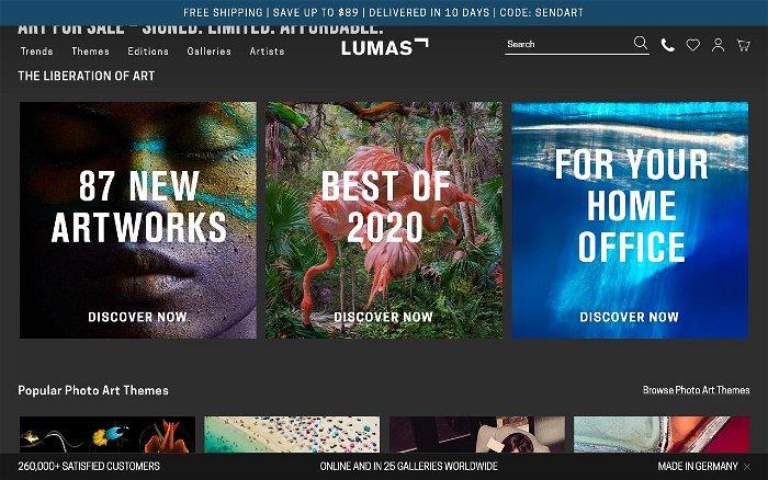 LUMAS - Ranks and Reviews
