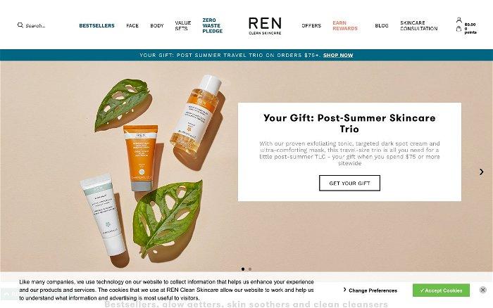 REN Clean Skincare - Ranks and Reviews