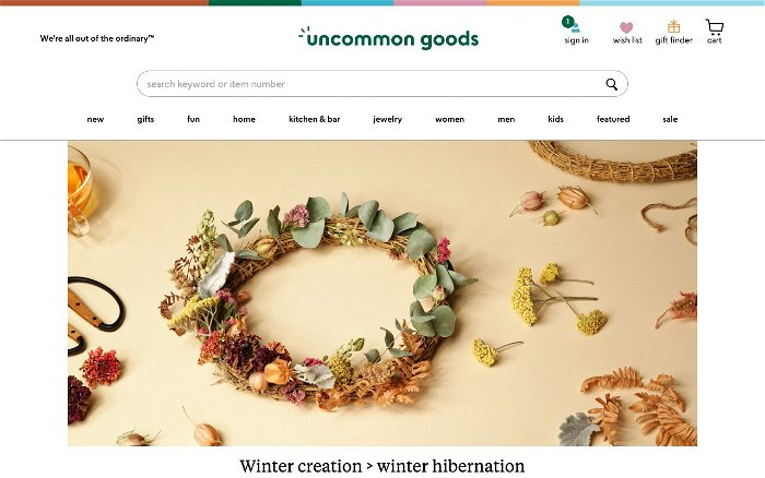 Uncommon Goods - Ranks and Reviews