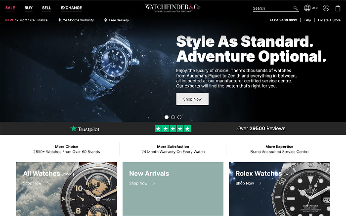 Watchfinder - Ranks and Reviews